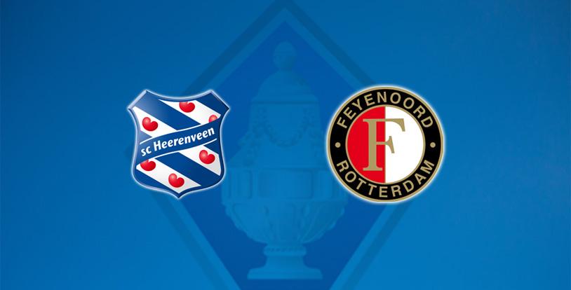 TOTO KNVB Beker Heerenveen – Feyenoord