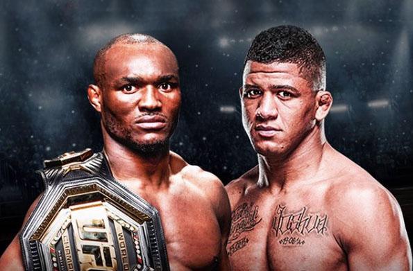 Bookmakers voorspellen in het UFC-gevecht tussen Kamaru Usman vs. Gilbert Burns