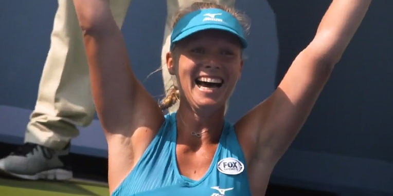WTA Dubai tennis 2021 met Kiki Bertens